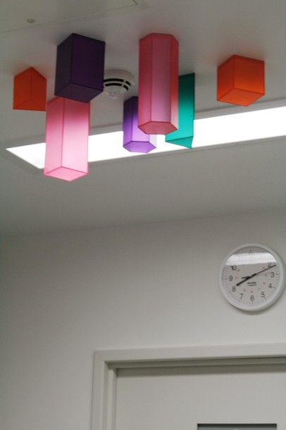 Projects Royal Bristol Infirmary / Anasthetic room. Ceiling piece