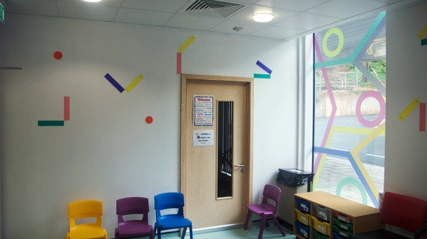 Projects Royal Bristol Infirmary / Day Case Waiting area