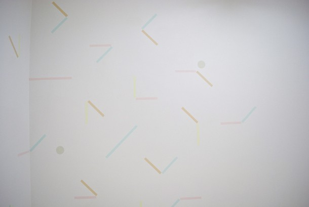 Projects Punto . Aparte / Amalgama. Wall painting