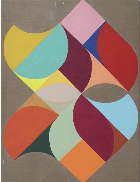 Marta Marce: Flowing linen, 2008