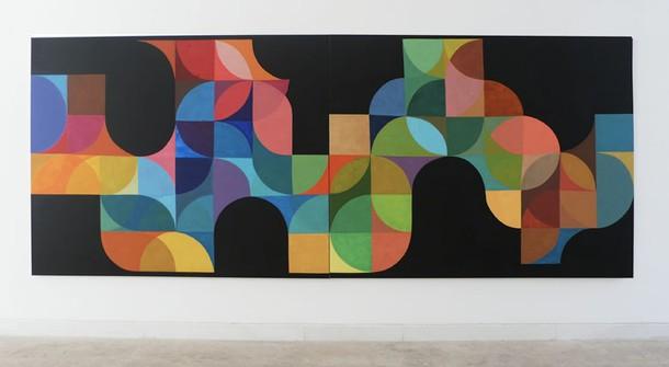 Marta Marce: Flowing in black, 2009