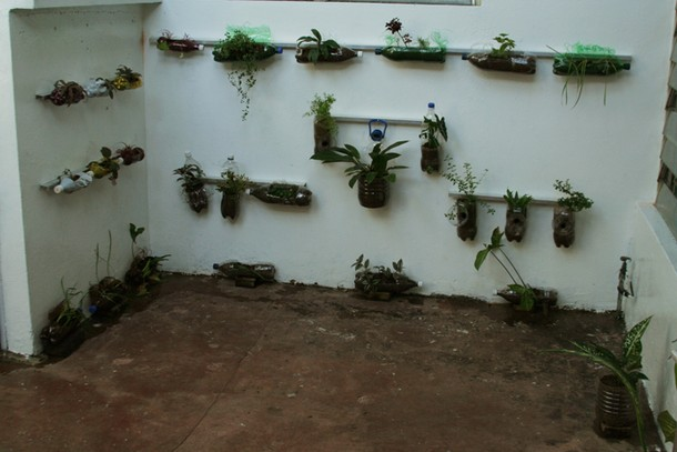 Projects Velada Sta Lucia, Venezuela / Vertical garden -herbal plants-