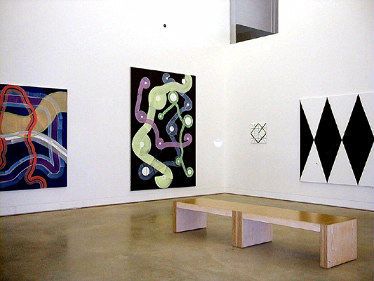 Projects Recent Work. Two person show with Sigman Polke / 1