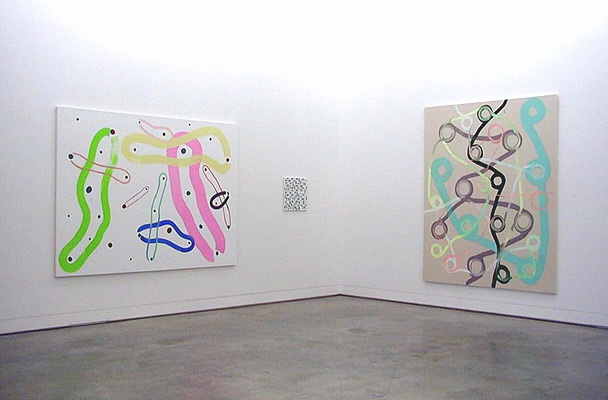 Projects Recent Work. Two person show with Sigman Polke / 3