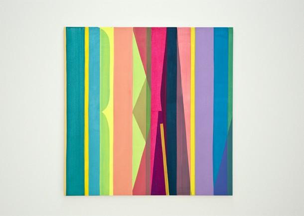 Projects Punto . Aparte / IKI 2. 100 x 100 cm. Acrilic on canvas