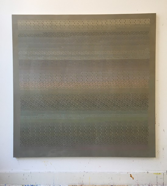 Marta Marce: Tabula Rasa (greys), 2018