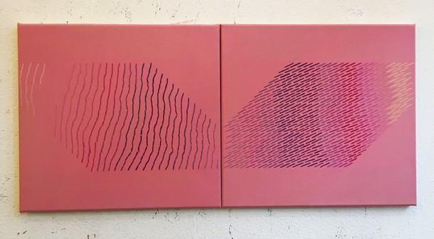 Marta Marce: Tabula Rasa (pinks), 2018