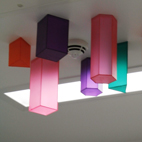 Project: Royal Bristol Infirmary (2013) / Anasthetic room. Ceiling piece