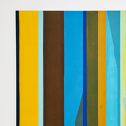 Exhibition: Punto . Aparte, Al Borde Galeria / IKI 1. 100 x 180 cm. Acrilic on canvas